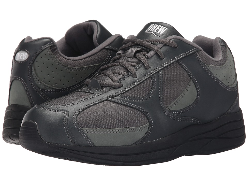 Drew - Surge (Grey Leather/Nubuck/Mesh) Men