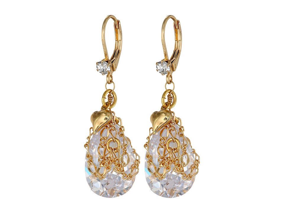 Betsey Johnson - Crystal Drop (Crystal) Earring