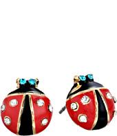 Betsey Johnson - Ladybug Studs