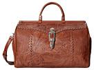 American West Retro Romance Duffel Bag (Brown)