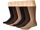 Cushion Mercerized Cotton Sock 6-Pack