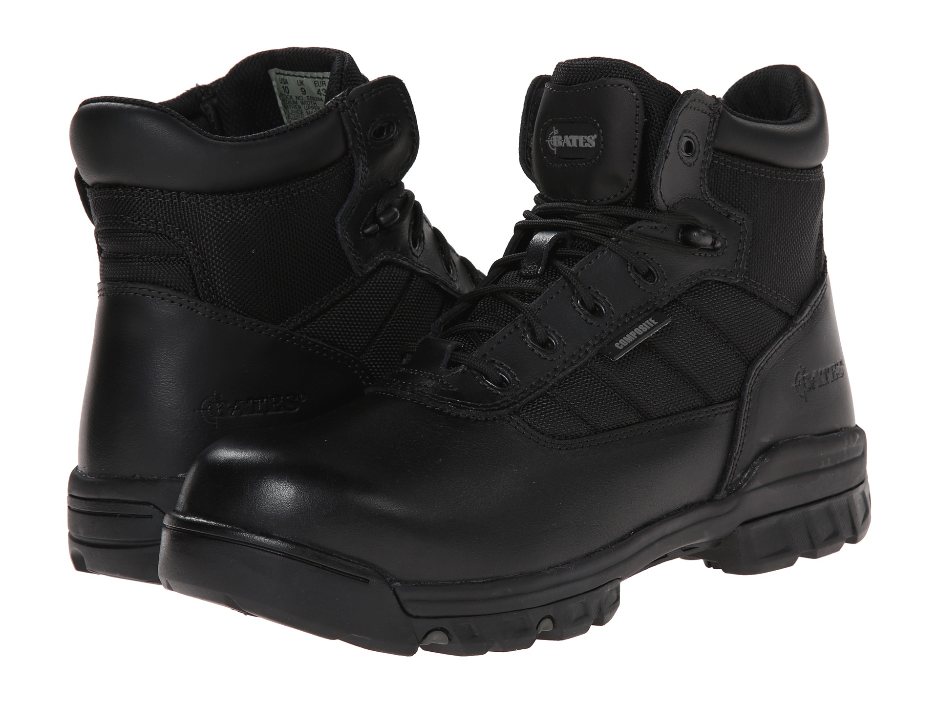 Bates Footwear 5 Quot Tactical Sport Composite Toe Side Zip At