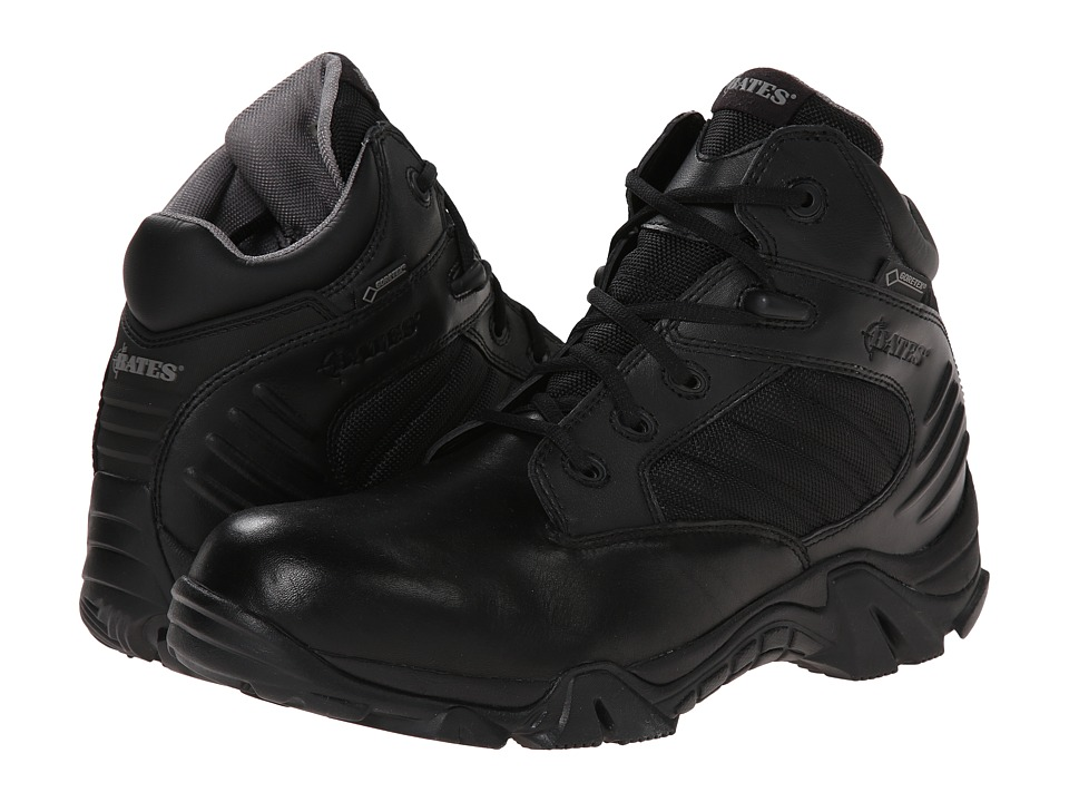 Bates Footwear GX 4 GORE TEX Black Mens Work Boots