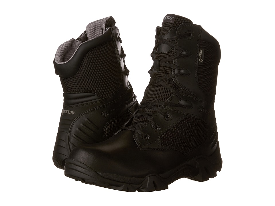 Bates Footwear - GX-8 GORE-TEX(r) Side-Zip (Black) Mens Work Boots