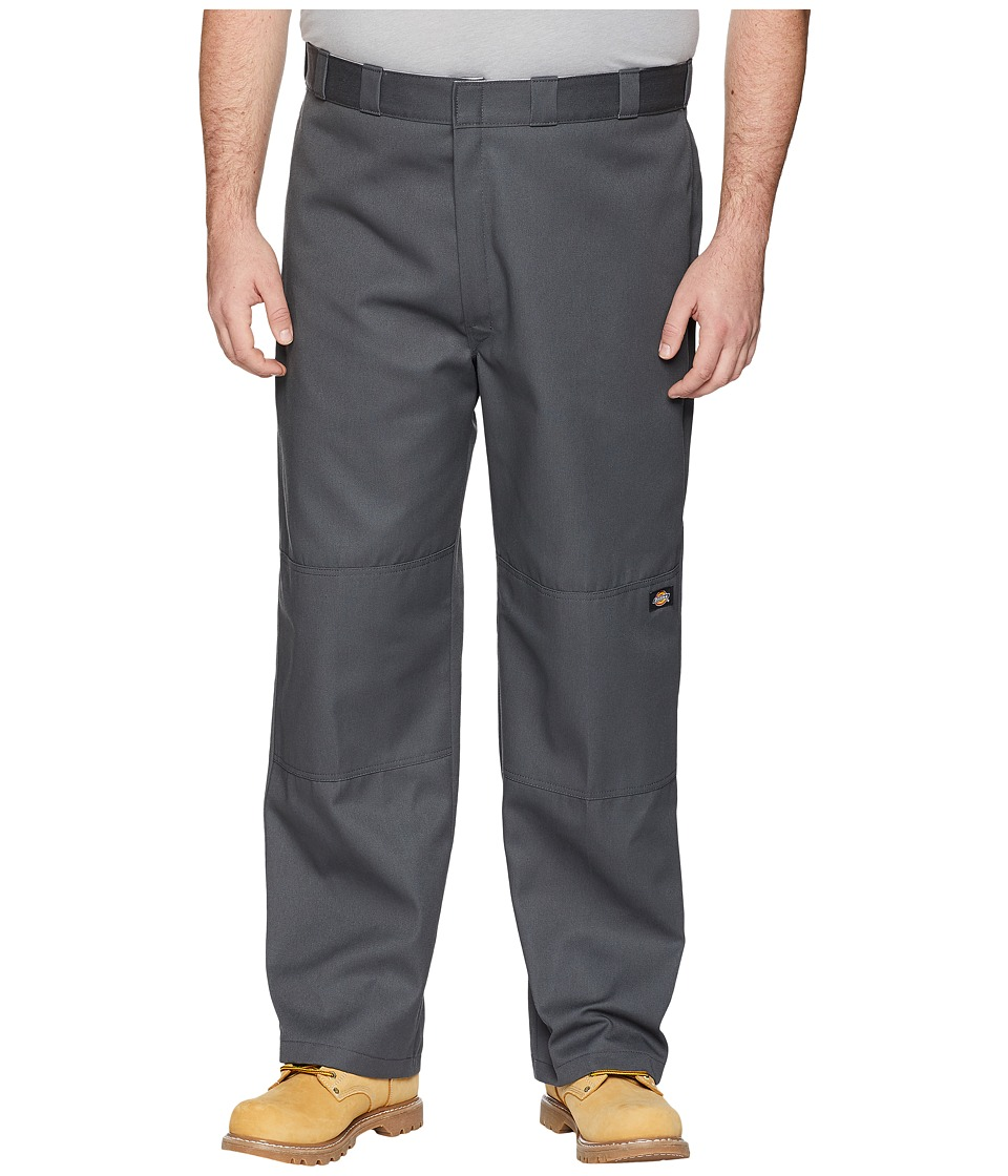 Dickies - Double Knee Work Pant Extended Waist Sizes (Charcoal) Mens Casual Pants