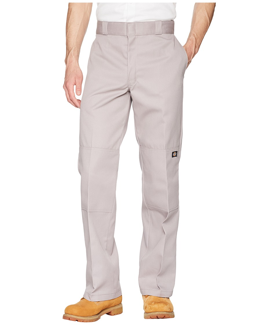 Dickies - Double Knee Work Pant (Silver Gray) Mens Clothing