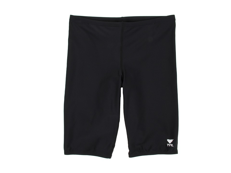 TYR Jammer Solid Male Black Mens Swimwear