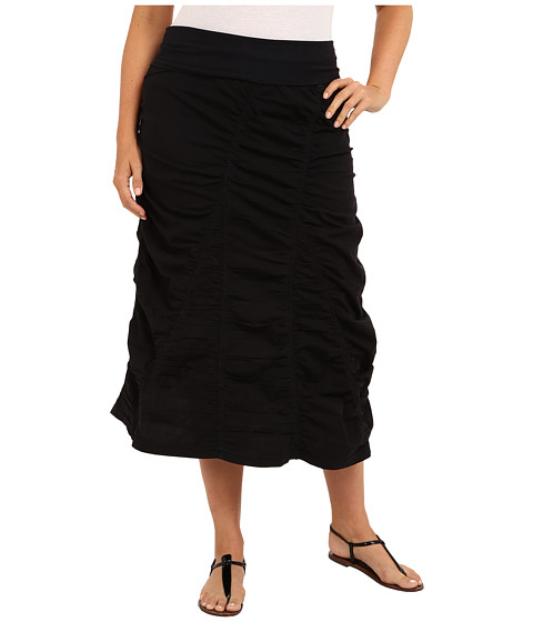 XCVI Plus Size Plus Size Peasant Skirt (Black) Women's Skirt