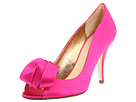 Kate Spade New York - Clarice (Hot Pink Satin) - Footwear