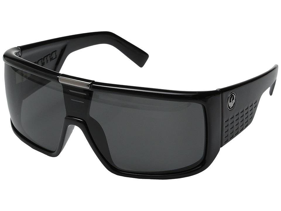 Dragon Alliance Domo Jet/Grey Lens Sport Sunglasses