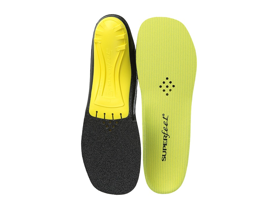 Superfeet - Premium Yellow (Yellow) Insoles Accessories Shoes