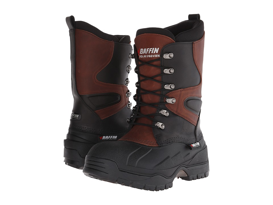Baffin - Apex (Black/Bark) Mens Lace-up Boots
