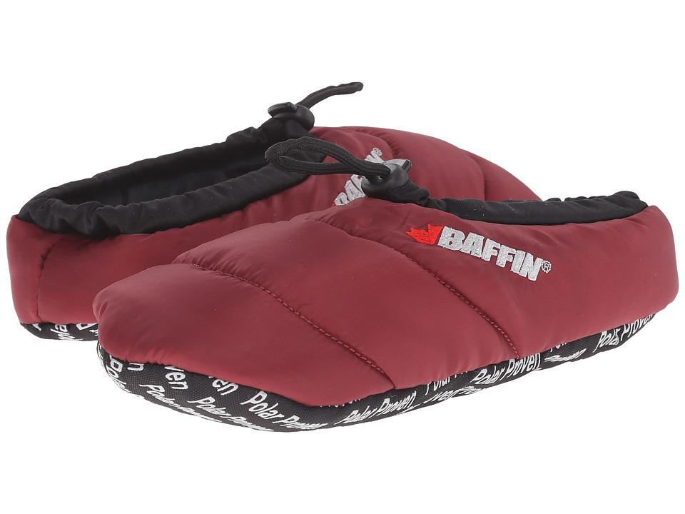 Baffin Cush (Merlot) Slippers