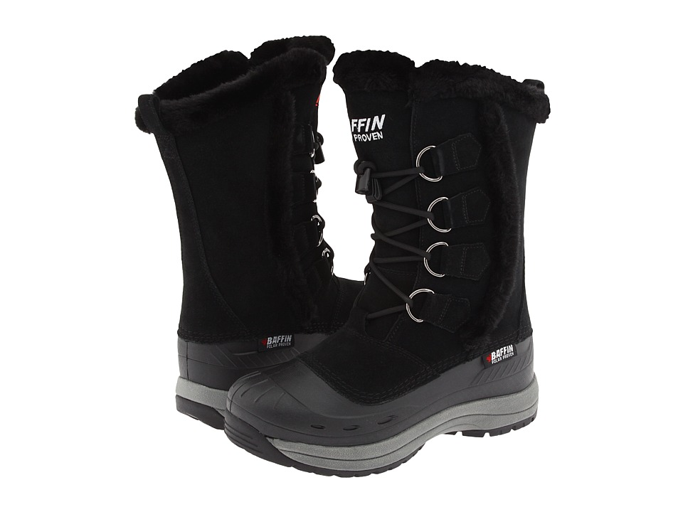 Baffin Chloe Black Womens Cold Weather Boots