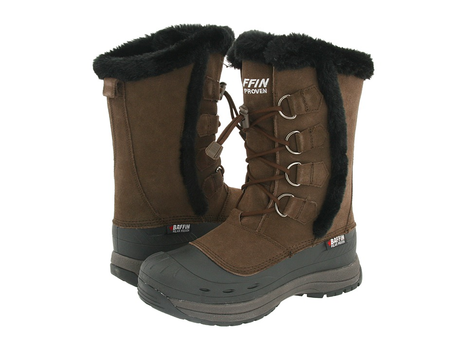 Baffin Chloe Dark Chocolate Womens Cold Weather Boots