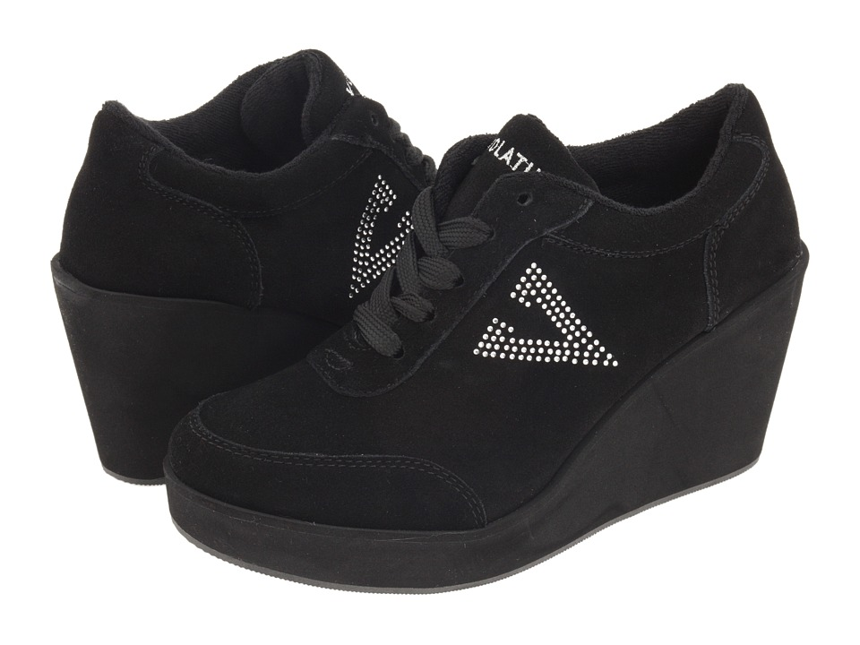 VOLATILE - Cash (Black) Womens Wedge Shoes