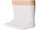 Jefferies Socks - Seamless Sport Crew Half Cushion 6 Pack (Infant/Toddler/Little Kid/Big Kid/Adult)