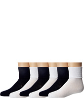 Jefferies Socks - Seamless Toe Turncuff 6 Pair Pack (Infant/Toddler/Little Kid/Big Kid/Adult)