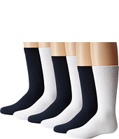 Jefferies Socks - Seamless Big Hug 6 Pair Pack (Infant/Toddler/Little Kids)