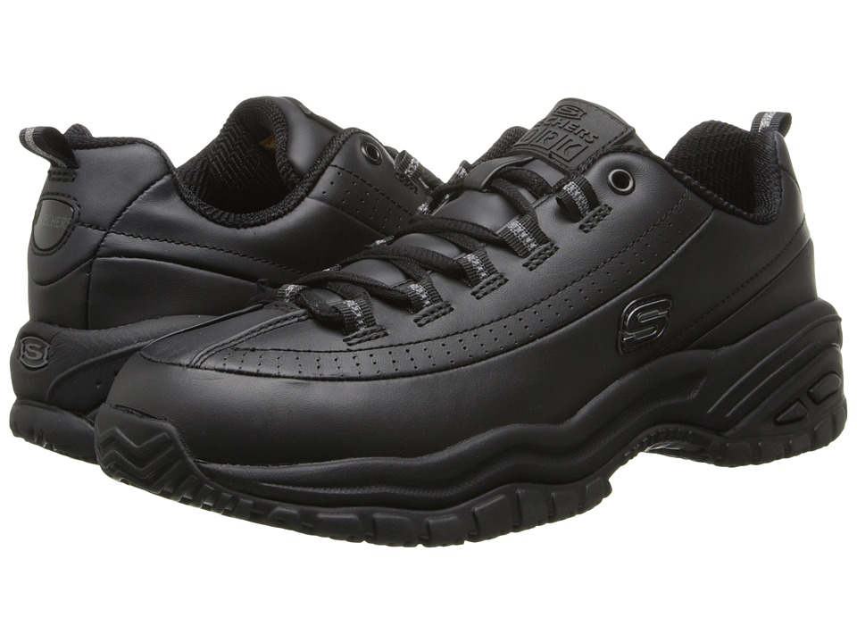 SKECHERS Work - Softie (Black) Womens Industrial Shoes