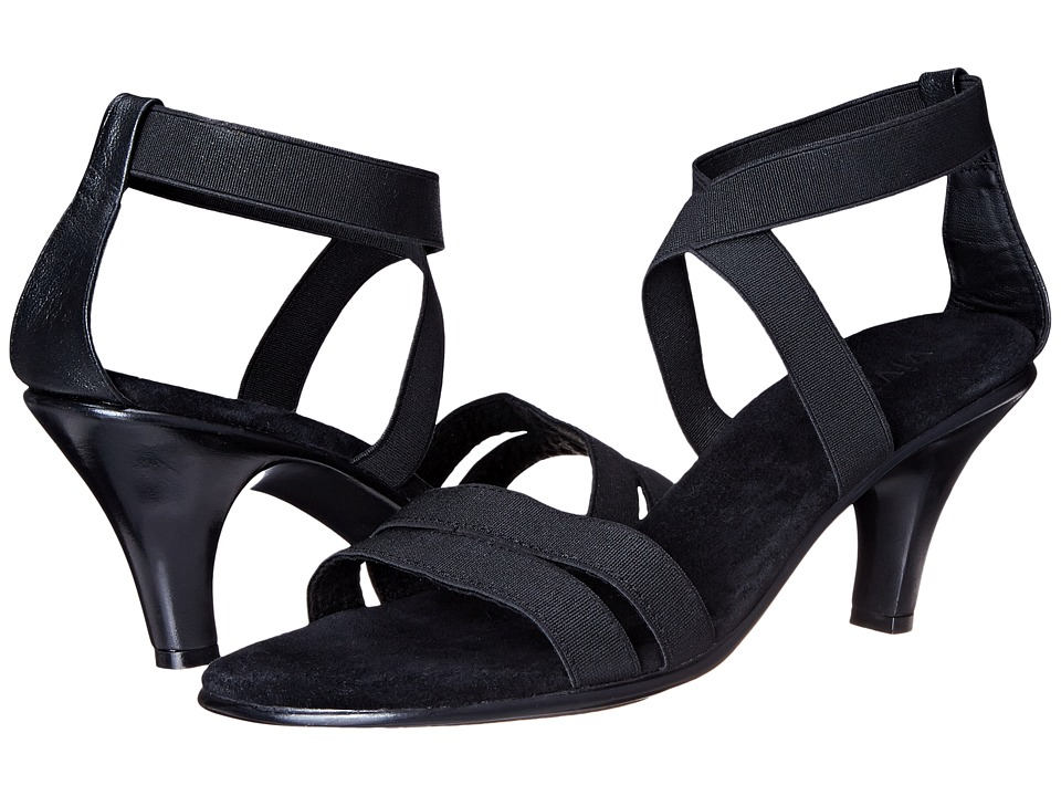 Vivanz Celine Black Womens Dress Sandals