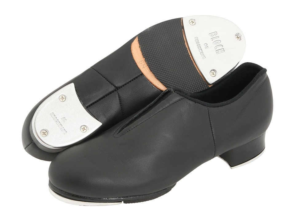 Bloch - Tap-Flex Slip On (Black) Womens Tap Shoes