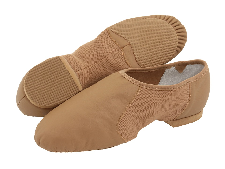 Bloch - Neo-Flex Slip On (Tan) Womens Dance Shoes