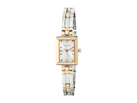 Anne Klein 10-4899SVTT - Silver/Gold Bracelet With Silver Dial