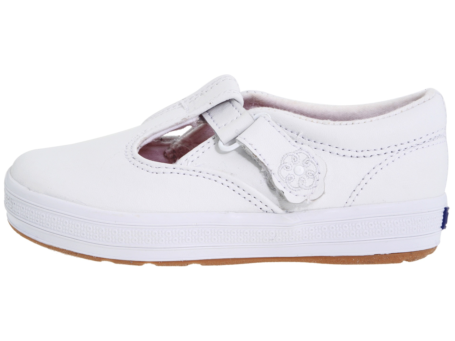 keds toddler white leather