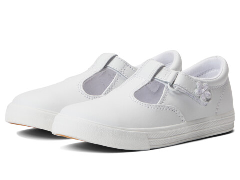 white leather keds for girls