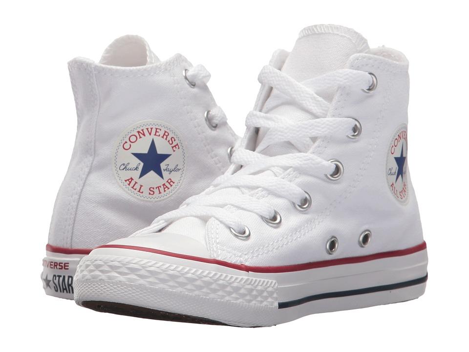 Converse Kids Chuck Taylor(r) All Star(r) Core Hi (Little Kid) (Optical White) Kids Shoes