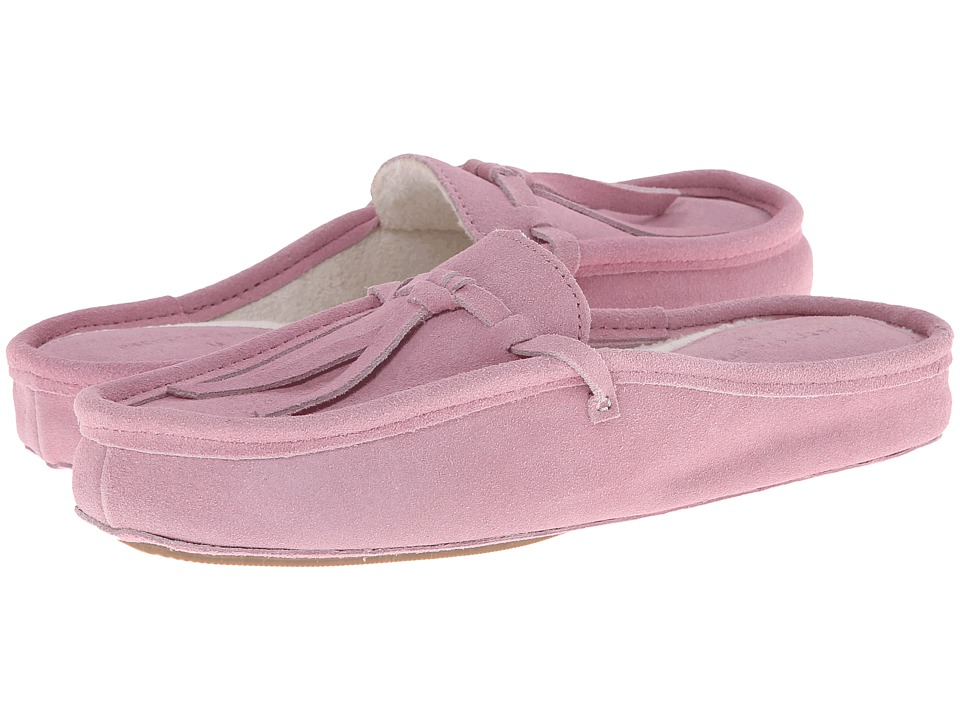 Patricia Green Greenwich (Pink Suede) Slippers