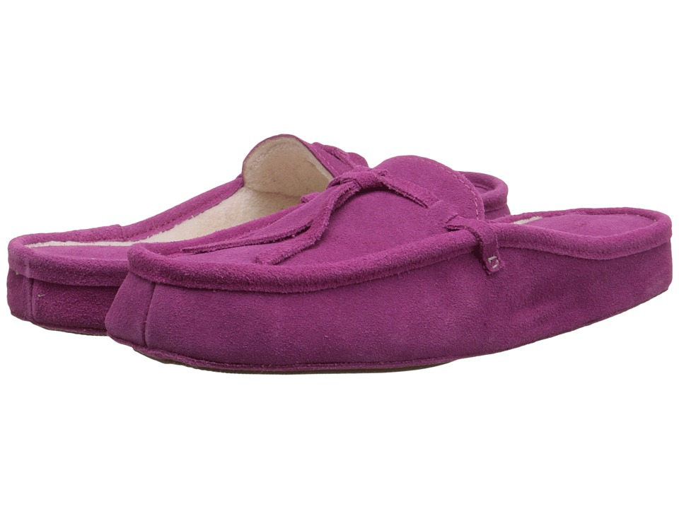 Patricia Green Greenwich (Raspberry Suede) Slippers