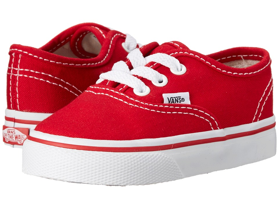Vans Kids Authentic Core Toddler Red Kids Shoes