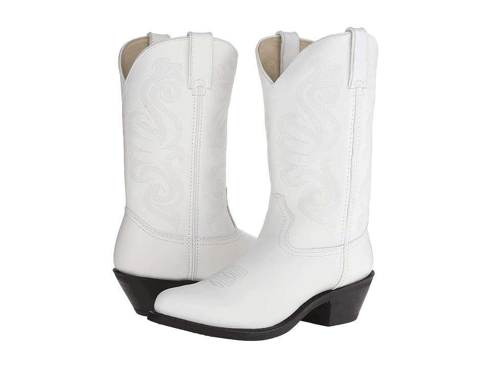 Durango RD4111 (White Leather) Women's Boots