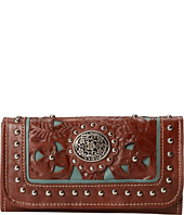 American West - Lady Lace Tri-Fold Wallet