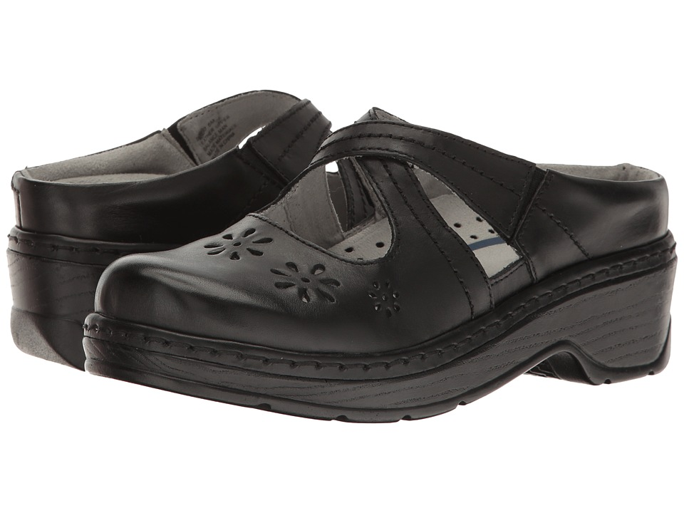 Klogs Footwear Carolina (Black Smooth) Women's Clogs
