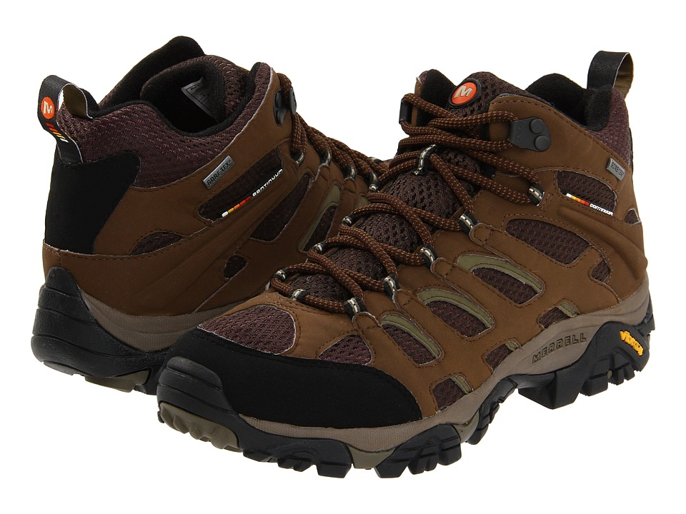 Merrell - Moab Mid GORE-TEX XCR (Dark Earth) Men