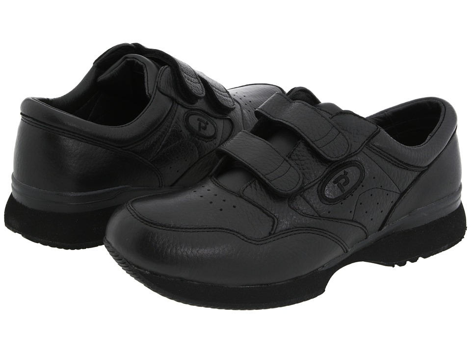 Propet - Leisure Walker Strap Medicare/HCPCS Code = A5500 Diabetic Shoe (Black) Men