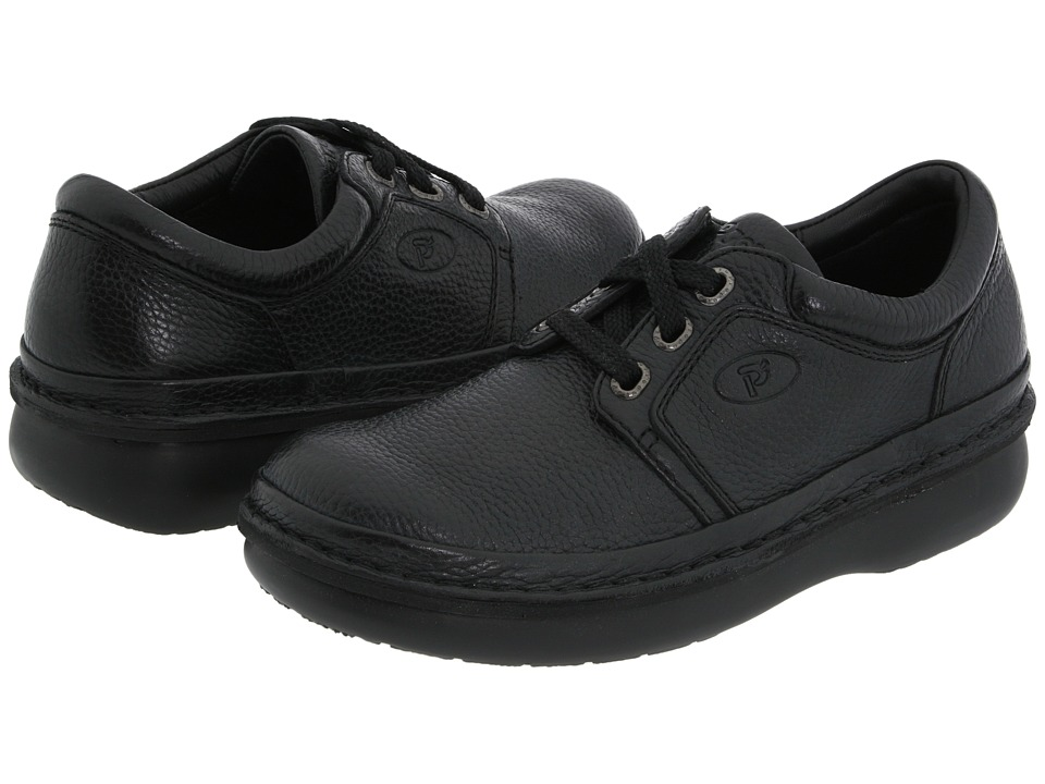 Propet - Village Walker Medicare/HCPCS Code = A5500 Diabetic Shoe (Black Grain) Men
