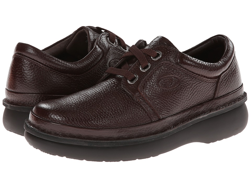 Propet - Village Walker Medicare/HCPCS Code = A5500 Diabetic Shoe (Brown Grain) Men