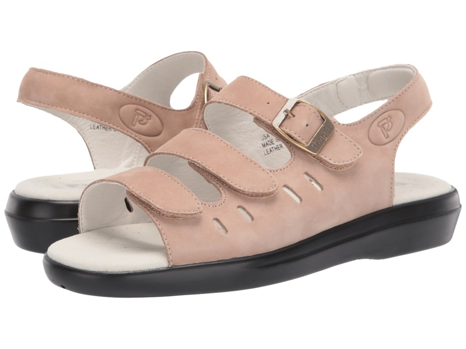 Propet Breeze Walker (Dusty Taupe Nubuck) Women's Shoes