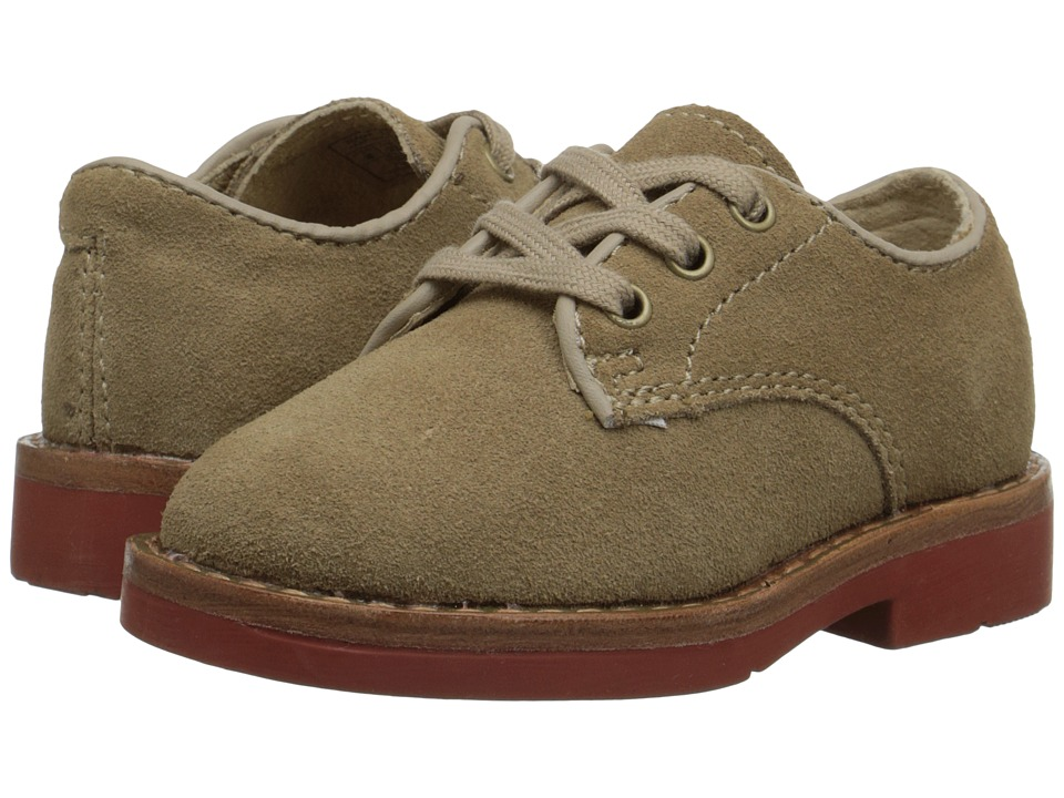 Polo Ralph Lauren Kids - Barton Oxford (Infant/Toddler) (Dirty Buck Suede) Boys Shoes