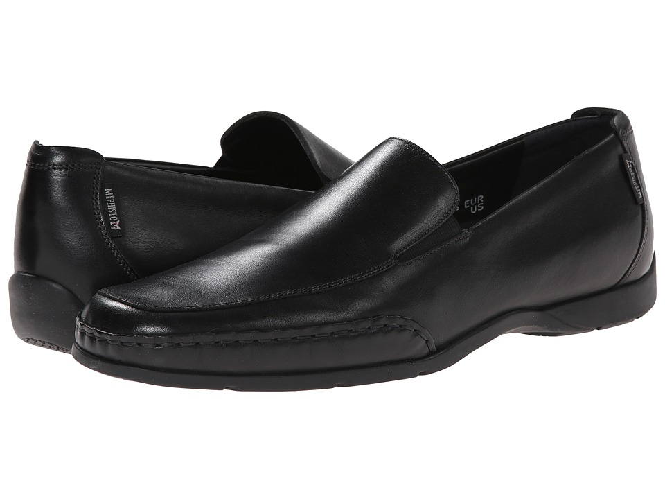 Mephisto - Edlef (Black Smooth Leather) Men
