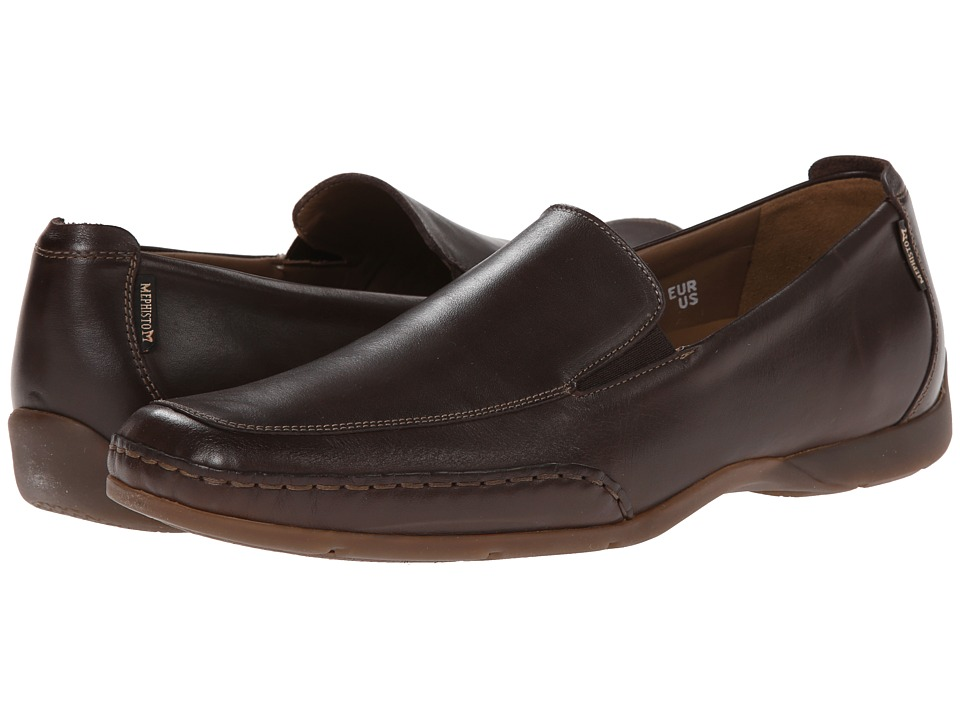 Mephisto - Edlef (Dark Brown Smooth Leather) Men