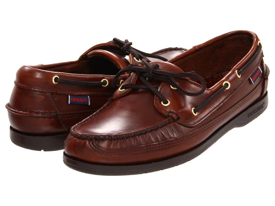 Sebago Schooner (Brown Oiled Waxy) Men's Shoes