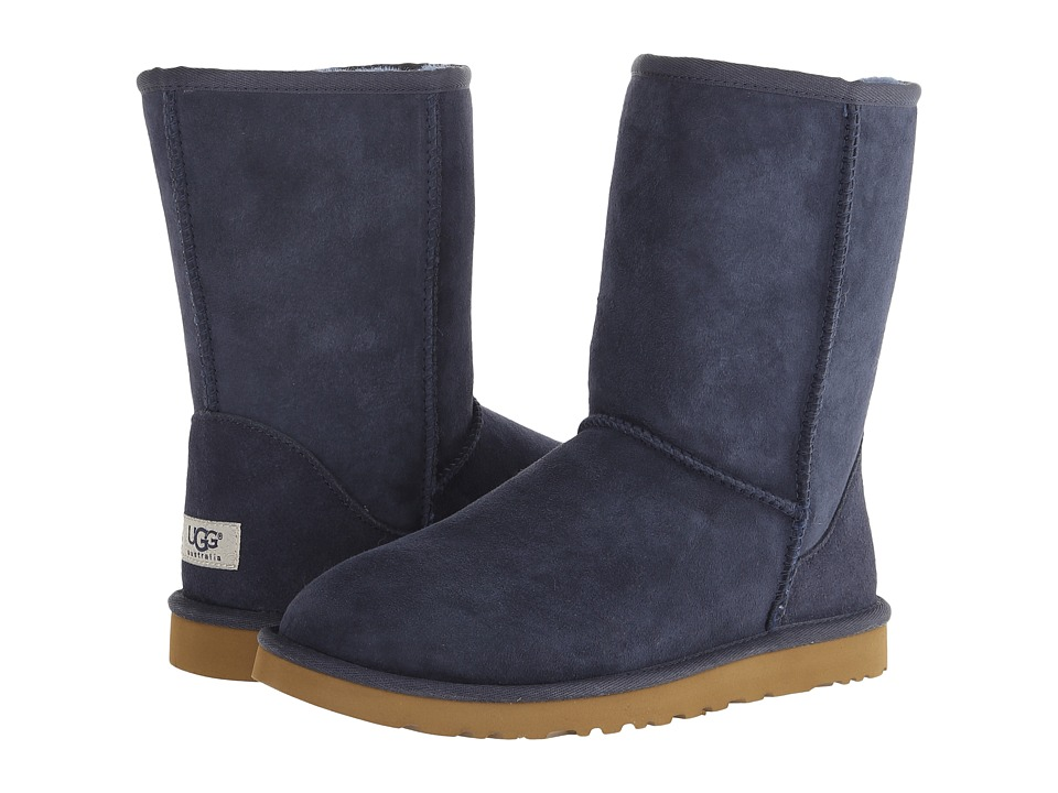 UGG Classic Short (Navy) Women's Pull-on Boots