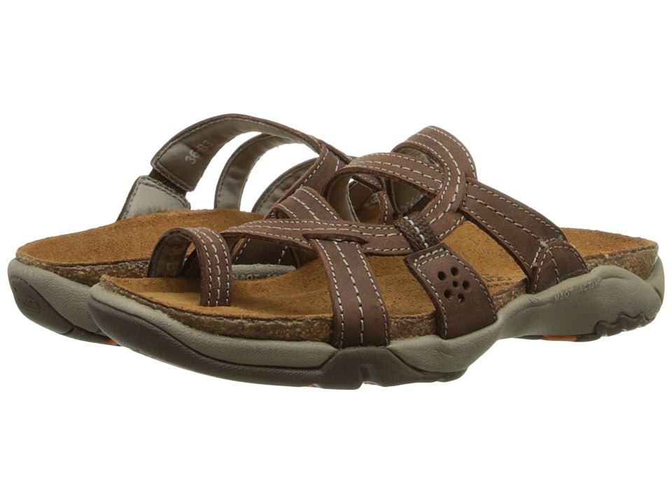 Naot Footwear Drift (Bison Leather) Sandals
