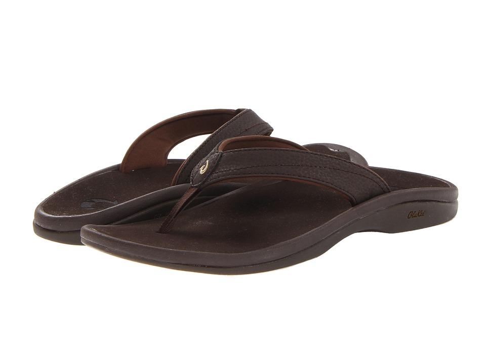 OluKai Ohana W (Dark Java/Dark Java) Sandals