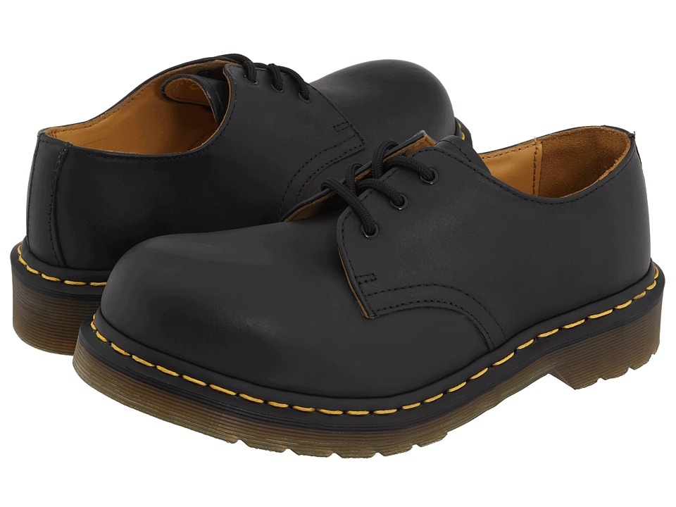 Dr. Martens - 1925 (Black Fine Haircell) Lace up casual Shoes